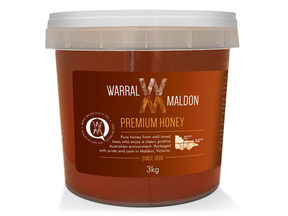 Warral Maldon Honey 3kg