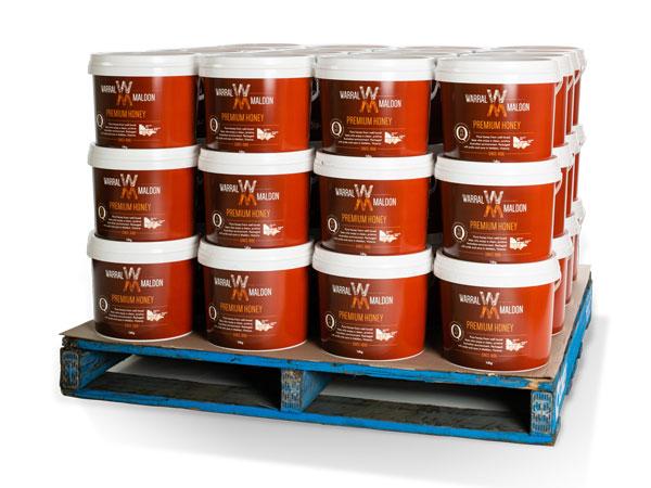 Wholesale pallet, 14kg honey